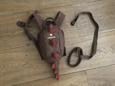 Little Life Dinosaur Toddler Backpack With Rein • 5£