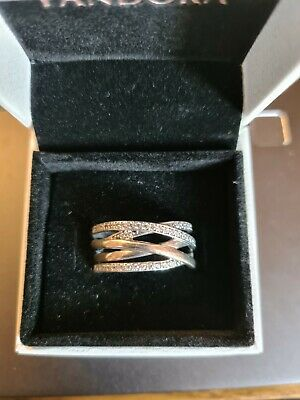 Pandora Silver Ring Size 60, New And Unworn - Still Available On Pandora Website • 27£