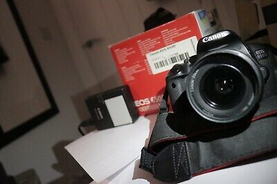 Canon EOS 650D Camera 18.0 MP Digital SLR-Black (EF-S 18-55mm Lens)With Battery. • 120£