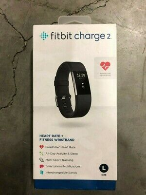 $ CDN149.99 • Buy Fitbit Charge 2 FB407GMBKL Heart Rate Monitor Fitness Tracker - Gunmetal