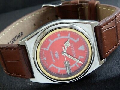 $ CDN26.53 • Buy VINTAGE CITIZEN AUTOMATIC 8200A JAPAN MEN'S DAY/DATE WATCH 438a-a219409-9