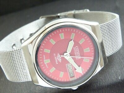$ CDN26.53 • Buy VINTAGE CITIZEN AUTOMATIC 8200A JAPAN MEN'S DAY/DATE WATCH 432k-a217815-4-9