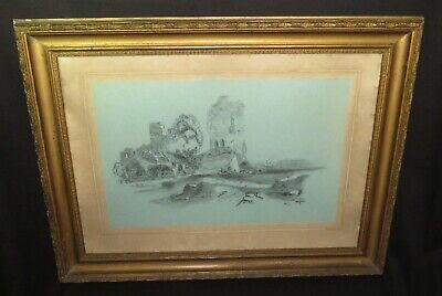 Antique Painting - Austrian Lake Landscape By Leo Diet - Signed & Dated 1905 • 9.99£