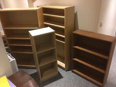 Collection Of Ikea Bookcases. Job Lot Or Singles. Billy Shelf • 40£