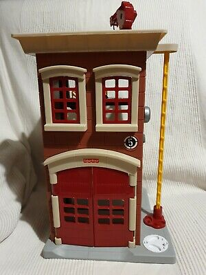 Fisher Price Imaginext Fire Station Toy • 9.99£