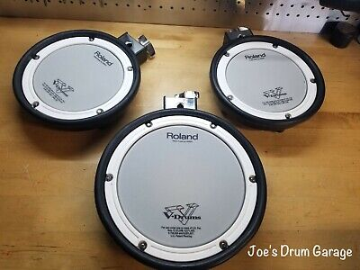 AU257.04 • Buy Roland 1 - PDX-8 & 2 - PDX-6 Dual Trigger Mesh Head V-Drum Pads Upgrade Y6B9443