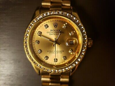 AU4456.21 • Buy Used Gold Rolex Oyster Perpetual Datejust