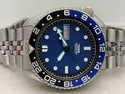 $ CDN64.30 • Buy Vintage Seiko Stunning Blue Mm300 Mod Diver 6309-7290 Automatic Men Watch 706961