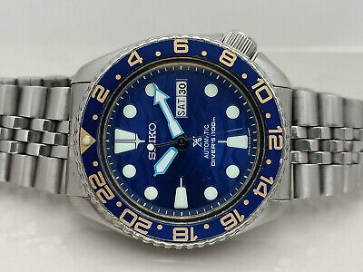 $ CDN64.30 • Buy Vintage Seiko Diver 6309-7290 Save The Ocean Mod Automatic Men Watch 813179