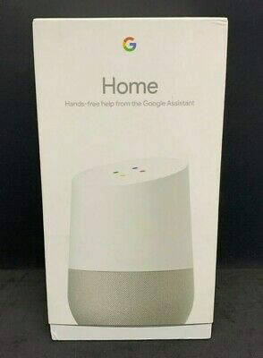 AU96.95 • Buy Google Home Smart Assistant - White Slate (GA3A00484A09) (AU-STOCK!)
