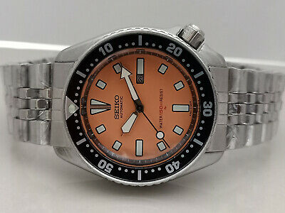 $ CDN64.30 • Buy Vintage Seiko Diver 4205-015t Orange Face Automatic Ladies Watch S.n: 4d0035