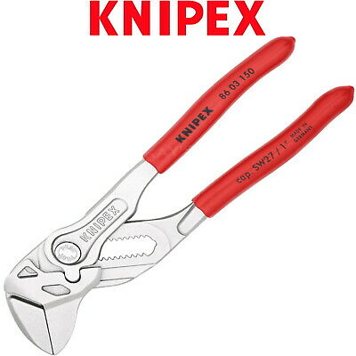 £45.50 • Buy Knipex Pliers Wrench 150mm 6in Push Button Adjustable Spanner PVC Grips 8603150
