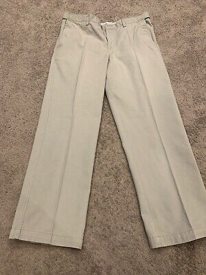 Mens BHS Atlantic Bay Chino Trousers Size 36S Grey • 4.50£