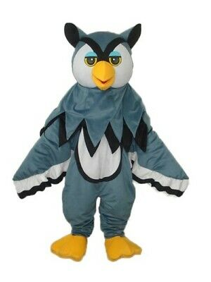 £225.85 • Buy FashionLittle Gray Eagle Mascot Costume Adult Birthday Party Fancy Dress Costume