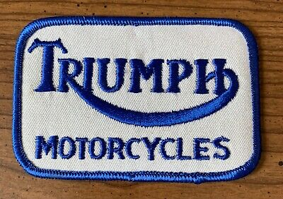 Patch TRIUMPH MOTORCYCLES Clothing Sewing Unused • 2.86£