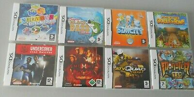 Nintendo DS Games Bundle X 8 - For Girls & Boys - All Complete & Tested • 17.95£