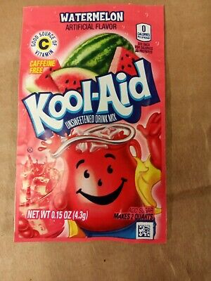 🍉🍉🍉Kool-Aid Drink Mix Watermelon🍉🍉 8 Packets LOOK! 🍉🍉🍉🍉🍉🍉🍉🍉🍉🍉🍉 • 3.98£