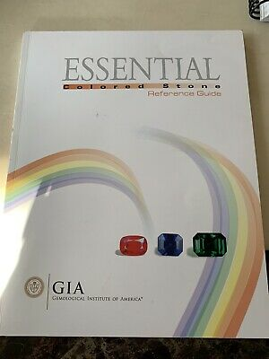 £80 • Buy Gemological Institute Of America Essential Colored Stone Reference Guide GIA