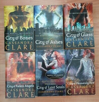 The Mortal Instruments Shadowhunters Cassandra Clare Complete 6 Book Set • 10£