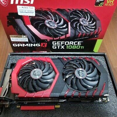 $ CDN1123.45 • Buy MSI Geforce GTX 1080ti Gaming X Graphics Card