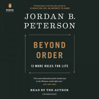 AU52.83 • Buy Beyond Order: 12 More Rules For Life [Audio] By Jordan B Peterson