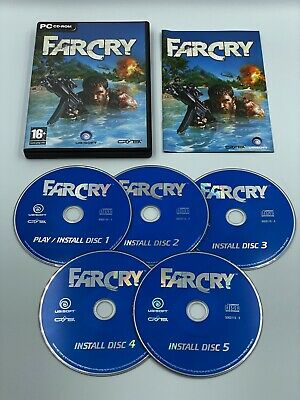 AU7.34 • Buy  FARCRY - 5 X DISC GAME - PC CD ROM - UK - COMPLETE - VERY GOOD CONDITION
