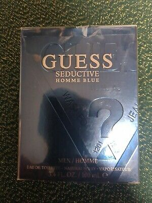 NEW And SEALED Guess Seductive Homme Blue EDT Spray 100ml • 14.90£