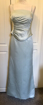 ALFRED ANGELO  Gorgeous Green 2 Piece High Low Skirt Evening Suit Size S • 19£
