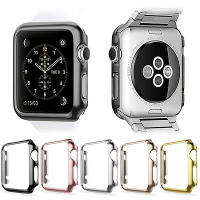 AU5.99 • Buy Apple Watch Series 3 4 SE 5 6 38-44mm Full Body Cover Snap Case Screen Protector