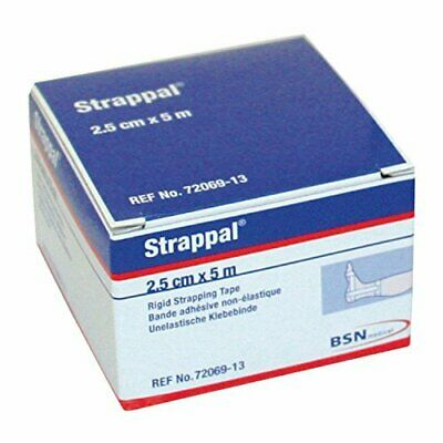 STRAPPAL Zinc Oxide Strapping Tape 2.5cm X 5m • 4.62£