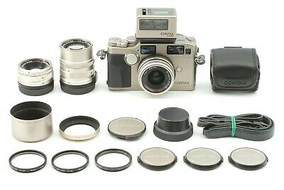 $ CDN3164.24 • Buy 【 Almost UNUSED / TLA200 】CONTAX G2 Film Camera W/ 28, 45, 90mm 3Lens From Japan