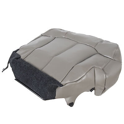 $51.45 • Buy Driver Bottom Seat Cover Gray For 1999 2000 2001 2002 Chevy Tahoe Suburban Gray
