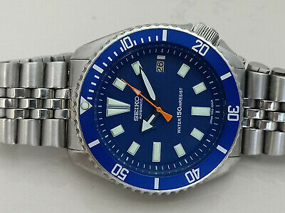$ CDN98.34 • Buy Vintage Blue Face Mod Seiko Diver 7002-700a Automatic Men's Watch Sn 5d0563 D