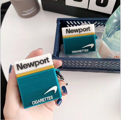 $ CDN21 • Buy For Airpods Pro 1st & 2nd 3D Cigarette Case Design Silicone Cover Case With Hook