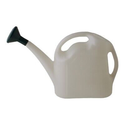 AU21.96 • Buy 9L Watering Can Ergonomic Handles Snug Fitting Removable Lightweight White NEW