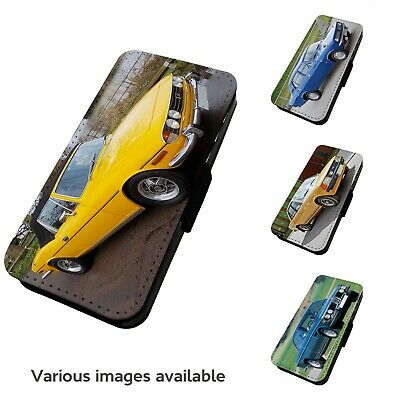 Printed Faux Leather Flip Phone Case For IPhone- V5 Various Classic Car Motorist • 9.75£