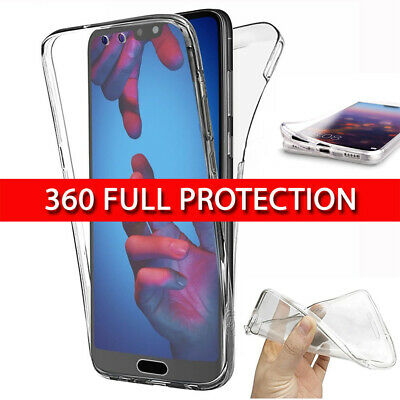 £2.99 • Buy Case For Huawei P30 Pro Lite P20 360 Shockproof Protective Silicone Gel Cover