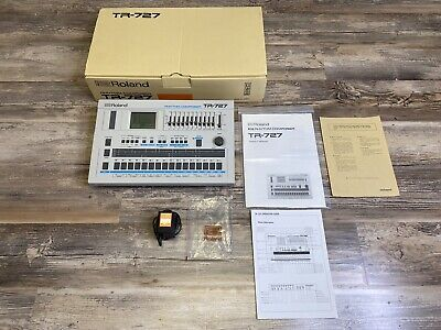 AU1657.49 • Buy Roland TR-727 Rhythm Machine Beat Composer Absolutely Spotelss Condition