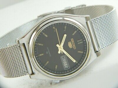 $ CDN26.28 • Buy OLD VINTAGE SEIKO 5 AUTOMATIC JAPAN MEN'S DAY/DATE WATCH 413g-a207775-9