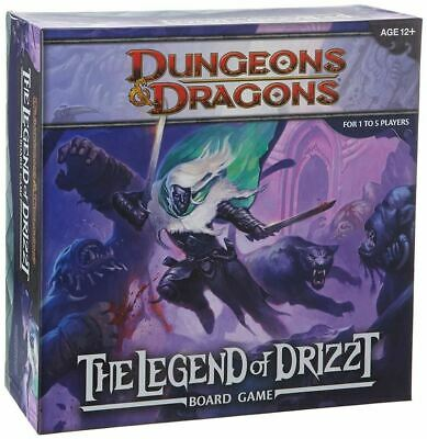 AU81.13 • Buy Legend Of Drizzt Board Game  A Dungeons And Dragons Board Game