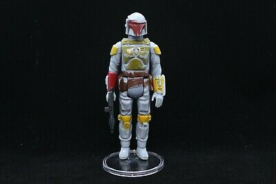 $ CDN0.01 • Buy Star Wars Vintage Mandalorian Boba Fett NEON Yellow Variant Complete Weapon 1979