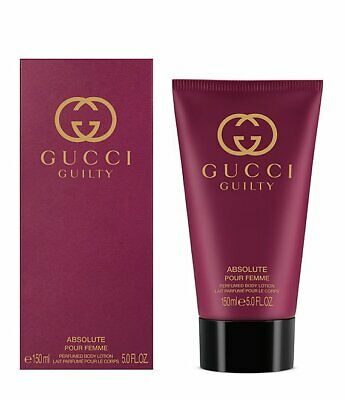 £21.47 • Buy Gucci Guilty Absolute Pour Femme  Body Lotion 5 Oz. Sealed Box
