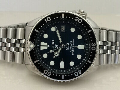 $ CDN64.30 • Buy Vintage Dark Blue Padi Modded Seiko Diver 7002-700j Automatic Men's Watch 1n1980