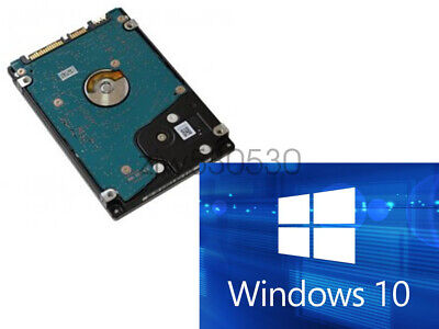 $ CDN59.01 • Buy HDD/SSD 2.5  SATA Hard Drive Laptop With Windows 10 Pro Installed (Legacy)