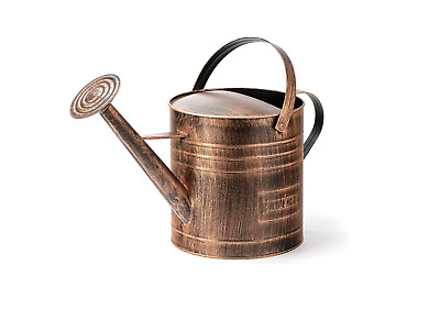 AU43.62 • Buy Holman 9L Copper Finished Watering Can Galvanised Rose Metal Durable Robust NEW