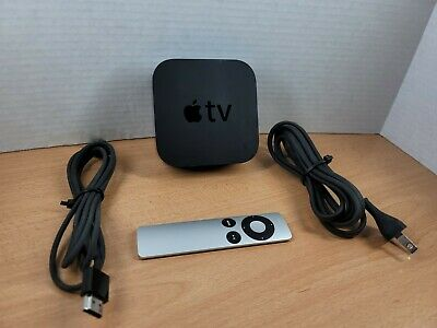 AU128.21 • Buy Apple TV 4th Generation 32gb Black A1625 Media Streamer