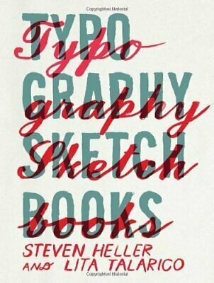 Typography Sketchbooks Published By Princeton • 28.18£