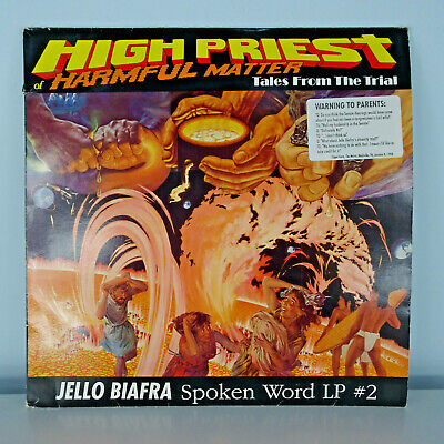 £9.95 • Buy Jello Biafra(Dead Kennedys)-High Priest Of Harmful Matter Double LP 1989 SUPERB