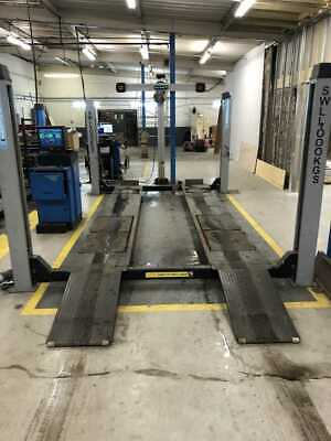 4000 KGS Wheel Alignment 4 Post Ramp • 3,000£