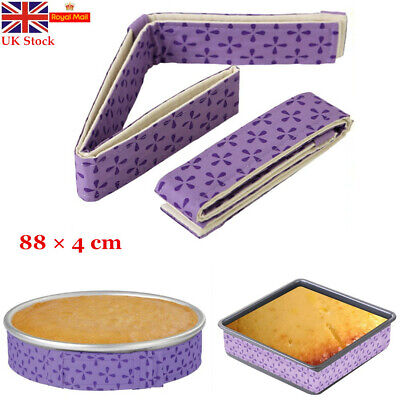 1/2PCS Wilton Bake-Even Strips Belt Bake Even Bake Moist Level Cake Baking Tool • 5.03£
